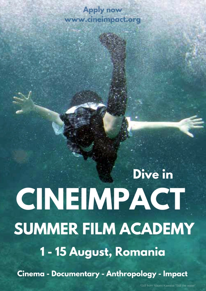 Dive in the CINEIMPACT Summer Film Academy 2017